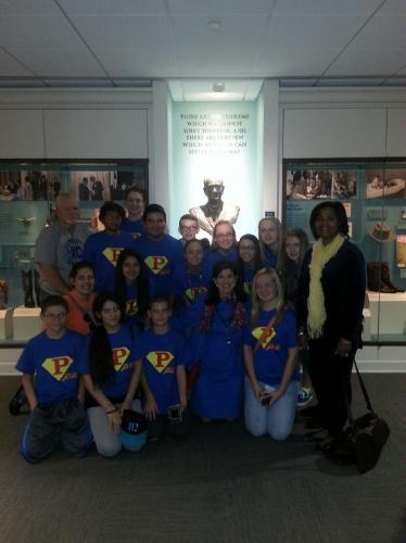 LBJ Presidential Library Museum Tour, Austin, TX